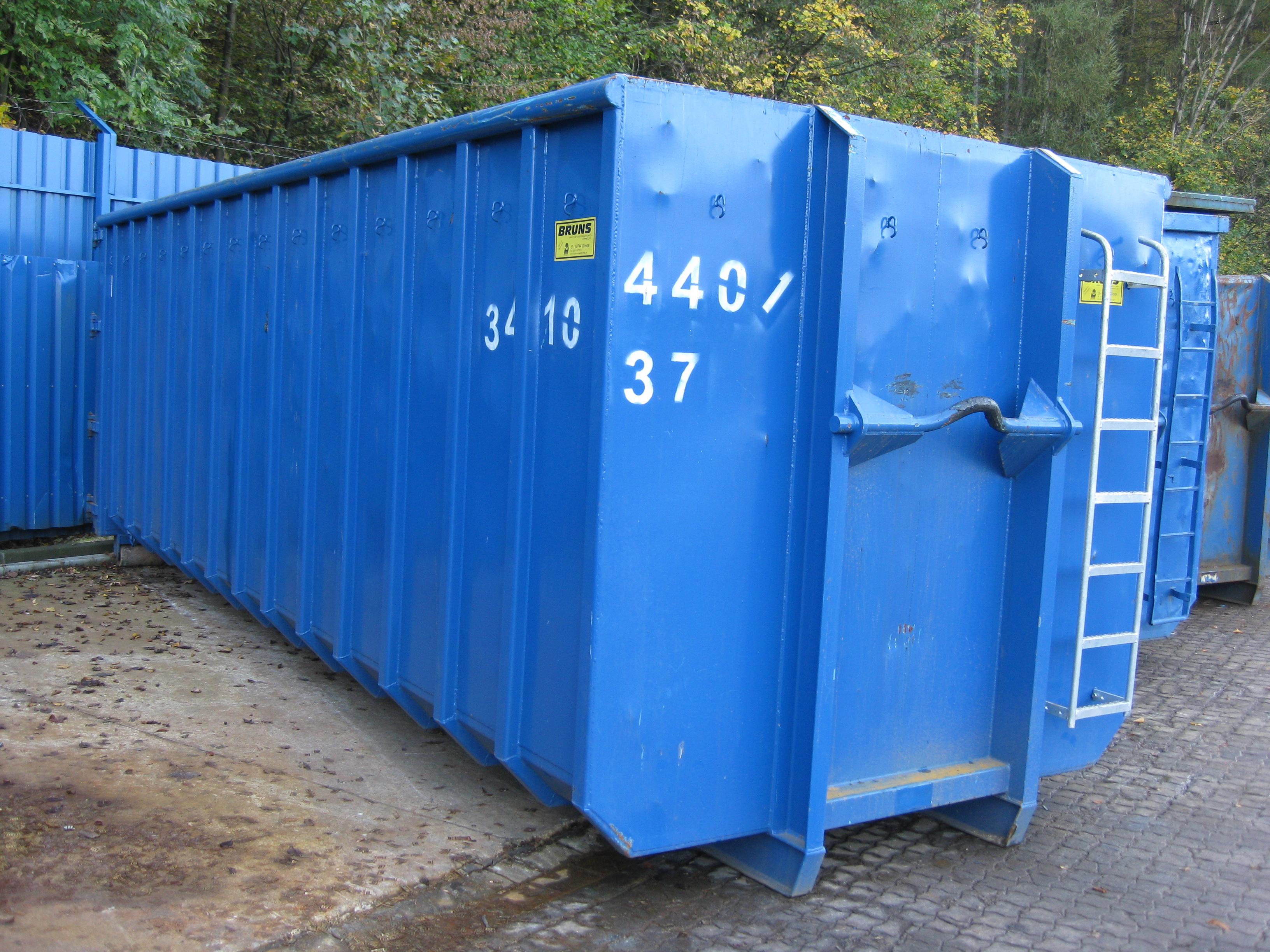 Abrollcontainer | Hossfeld GmbH in Engelskirchen
