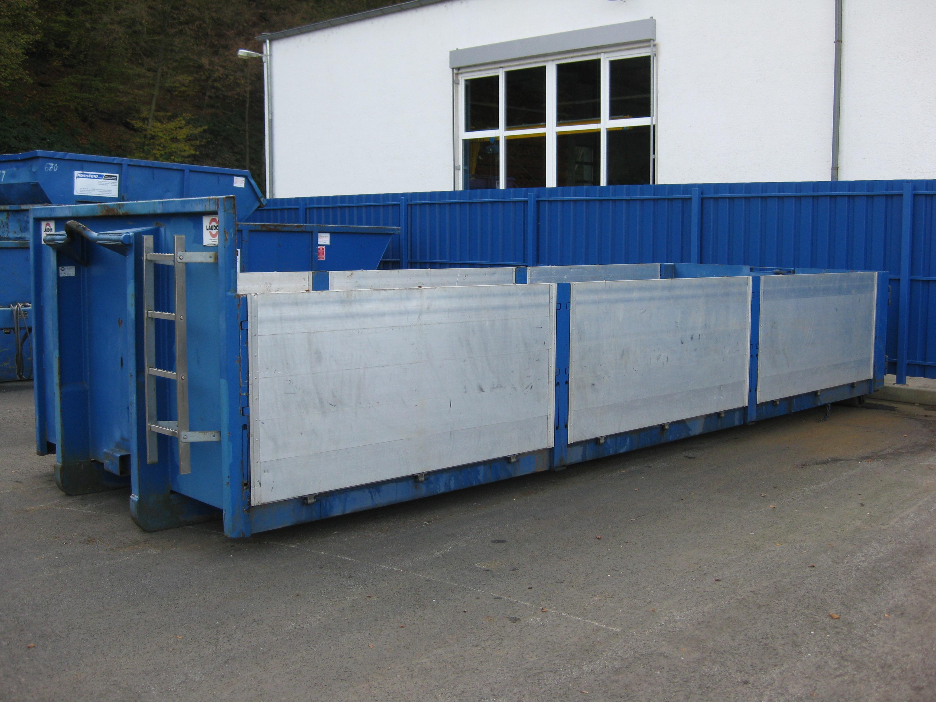 Abroller-Pritsche | Hossfeld GmbH in Engelskirchen