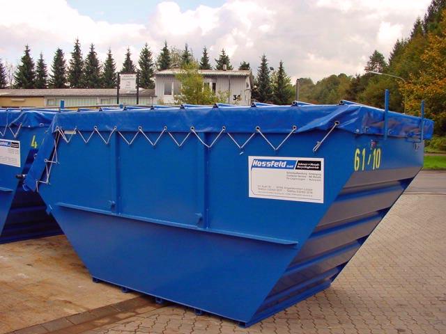 Planencontainer | Hossfeld GmbH in Engelskirchen
