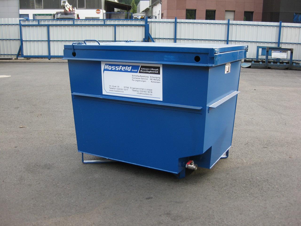 Transportkiste mit Deckel | Hossfeld GmbH in Engelskirchen