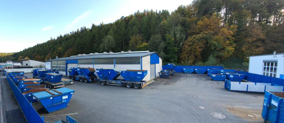 Werk 2 der Hossfeld GmbH in Engelskirchen | Entsorgung und Schrottaufbereitung